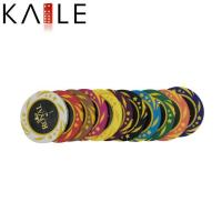 China toy series Kaile Custom ABC Poker Chips Sticker wholesale
