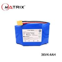 China Lithium Ion Battery For E-skateboard 36V on sale