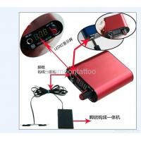 tattoo power supply with foot switch ntp041
