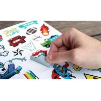 China Die cut stickers wholesale