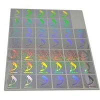 Buy cheap Hologram With Overprinting from wholesalers