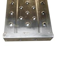 Buy cheap 210 Width Galvanized Scaffolding Steel Plank with 6mm Hole from wholesalers