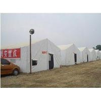 China High Reinforced Aluminum Military Style Tents 4M * 6M UV Resistance With PVC Cover wholesale