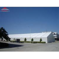 China Tear Resistant Industrial Storage Tents With Double PVC - Coated Polyester Textile Fabric Cover wholesale