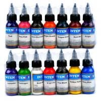 China 14colors Intenze Tattoo Ink Sets wholesale