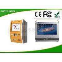 China Metal Casing Windows Pc Self Service Banking Kiosk Built In Touch Screen Displays wholesale