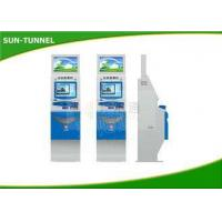 China Network Interface Self Service Ticket Machine At Train Stations Easy Install wholesale