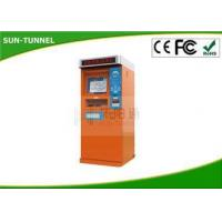 China Automatic Self Service Ticket Machine In Bus Station / Ticket Dispenser Machine wholesale