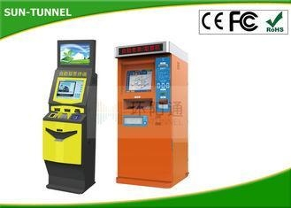 Quality Automated Self Service Cinema Queue Ticket Dispenser Machine With Thermal Printer for sale
