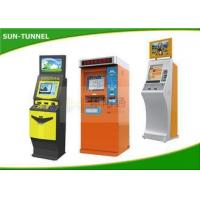 China Outdoor Touch Screen Queue Self Service Ticket Machine Floor Standing Water Proof wholesale