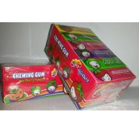 China Chewing gum with sticker wholesale