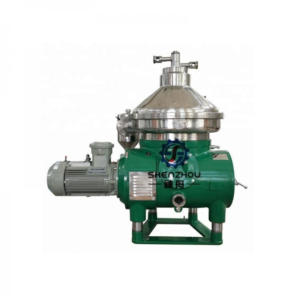Quality Edible Oil Disc Centrifuge Separator Machine for sale