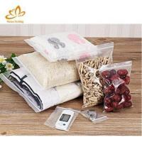 China China Factory Wholesale 3 Side Seal Small Ziplock Bag Clear Plastic Laminated Pe Zip Bag on sale