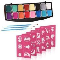 Buy cheap Water Based Halloween Party Makeup Face Painting Kit from wholesalers