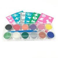 Buy cheap Amazon Christmas Party Face Painting set Palette from wholesalers