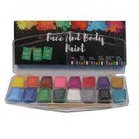 Buy cheap Cheap Halloween Professional 16 colors Face Paint Kit from wholesalers