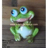 China Garden Series 9F2574A8- Polyresin Frogs Garden Decoration on sale