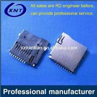 Buy cheap TF card holder TF/microSD push outer tape detection from wholesalers