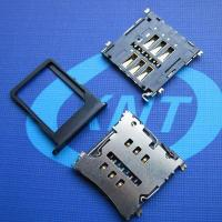 China microSim Card Holder 6pin with CD(H=1.50) wholesale