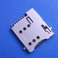 China microSim push type 6+1pin with CD can be reversed to the PCB wholesale