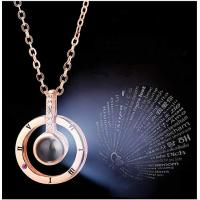 China Inf-way I Love You 100 Languages Necklace wholesale