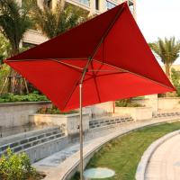 China 7 ft Square Patio Umbrella Outdoor Market Umbrella, with Tilt Adjustment , Perfect for Outdoors, wholesale