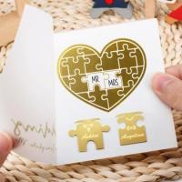 Buy cheap Wedding Jigsaw Puzzle Bookmarks from wholesalers