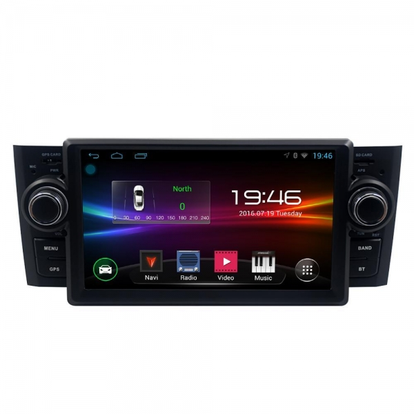 Quality Zonteck ZK-7801F Android Car Radio Fiat Punto Linea 2007-2012 for sale