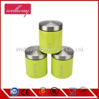 China fashion stype Stainless Steel Canister set on sale