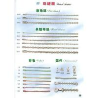 China Stainless Steel Ball Chain Necklace on sale