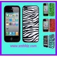 Silicone Cover for Phone and IPAD HF-Silicone Zebra for iPhone4/4s Case-11