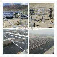 China PV Solar ground mount bracket/solar panel structure for ground on sale