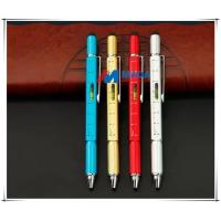 China Metal Multi-function Tool Pen 2018 newest 6in1 tool pen on sale