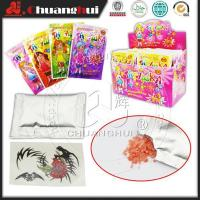 China Popping Candy With Tattoo(Girl) wholesale