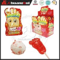 China Big feet popping lollipop candy wholesale