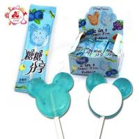 China Mickey Lollipop Sobitol Fruit Hard Candy 2 in 1 wholesale