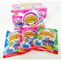 China Multi Fruit Flavor CC Candy Stick Sweets With Lovely Villa Jigsaw Puzzle Toy wholesale