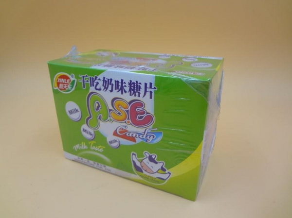 Quality Healthier Round Milk Tablet Candy Good Taste Using Non - Dairy Creamer for sale