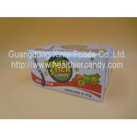 China Children Fun Fruit CC Stick Candy With Nice Tattoo Sour Powder 11 G * 40 Pcs wholesale