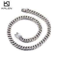 China Chunky Stainless Steel Necklaces for Men wholesale