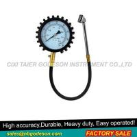 China 4 Inch Large Dial Tire Pressure Gauge on sale