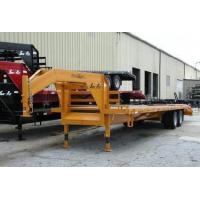 China 10 Ton Tandem Dually Fifth Wheel Deck-Over Trailers on sale