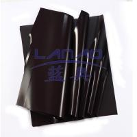 Curly rubber magnet sheet