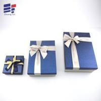 Buy cheap Ribbon top and bottom paper packaging for electronics from wholesalers