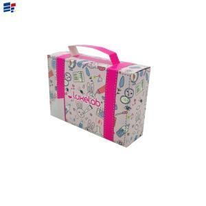 China Exquisite cosmetic foldable paper packaging box