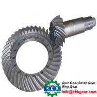 China Helical Bevel Gear Rear Drive Axle Car Truck Spiral Bevel Gear wholesale