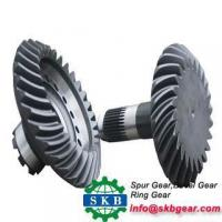 China Precisopn Right Hand Steel Spiral Bevel Gear For Gearbox wholesale