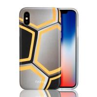 CTUNES IMD Football Pattern TPU Rubber Silicone Cover Anti-Scratch Protective Case For iPhone X