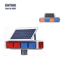 Buy cheap Aluminum Solar Warning Traffic Light from wholesalers