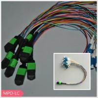 China MPO to lc singlemode fiber patch cord on sale